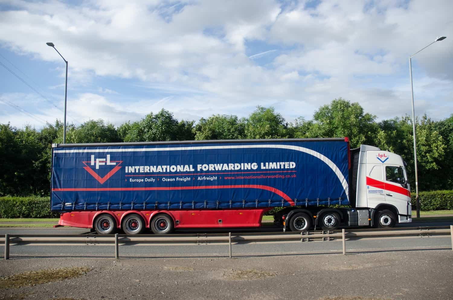 IFL truck on the move