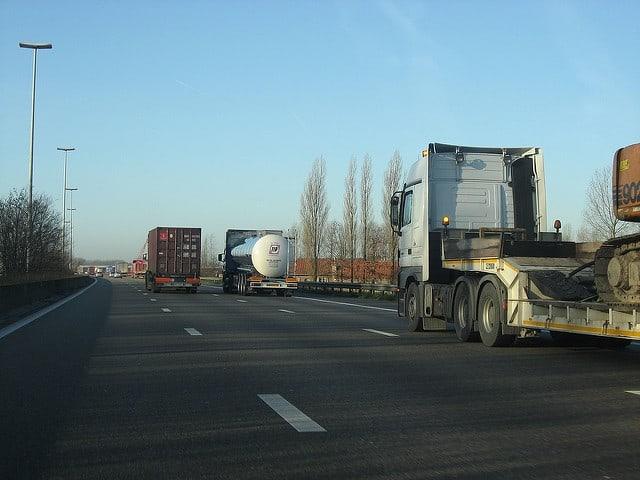 Belgian motorway