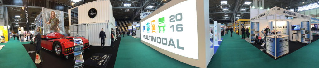 Multimodal at the NEC hall 3