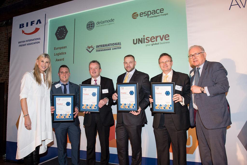 European Logistics Awards finalists