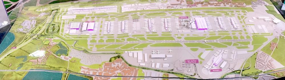 Heathrow expansion model