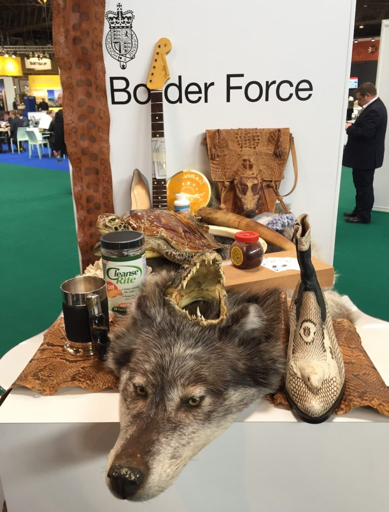 Border Force confiscated items at Heathrow