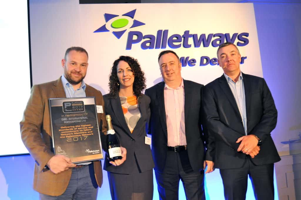 IFL accepting Palletways Platinum member status