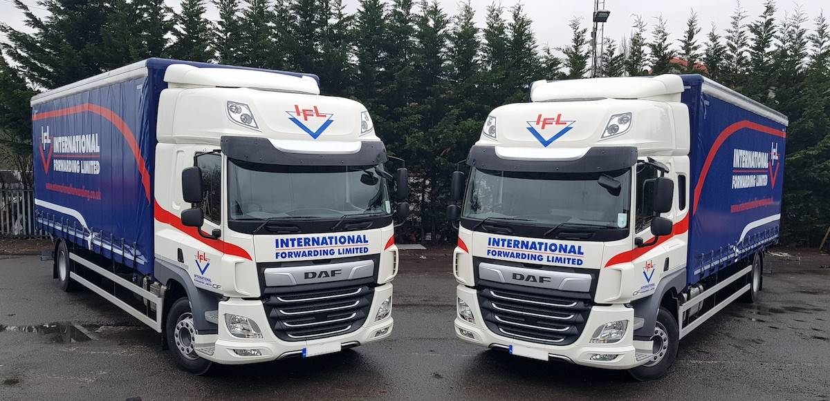 IFL's new DAFs trucks bring greener transport