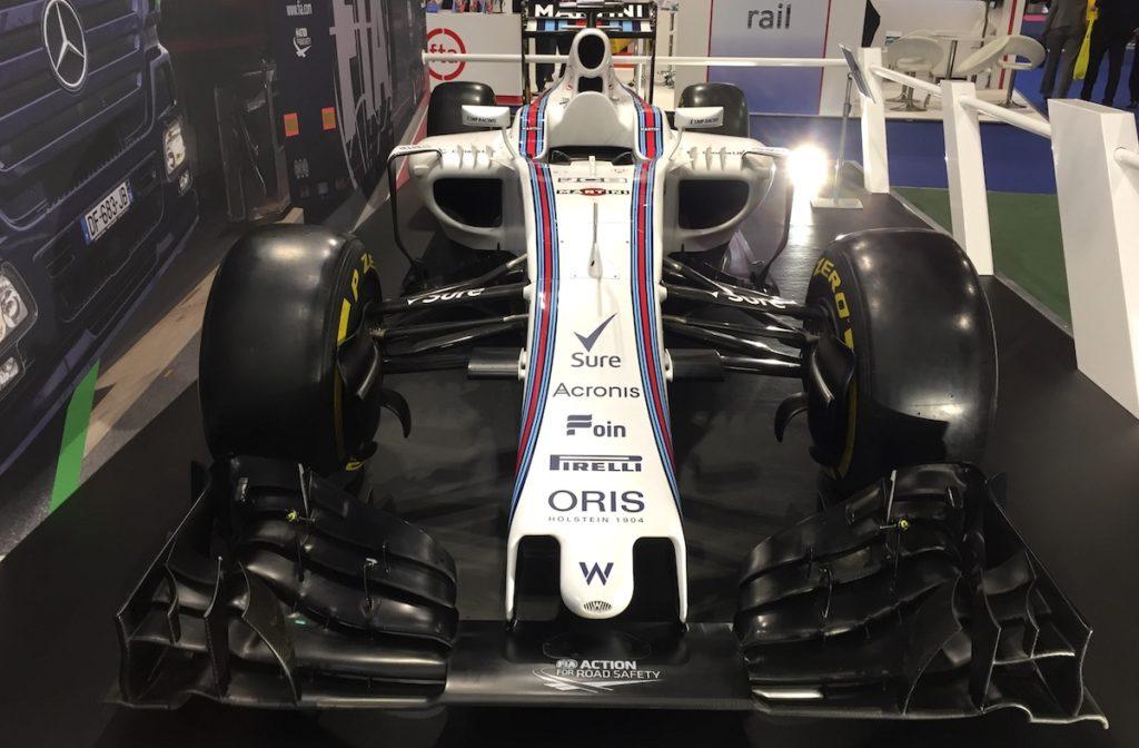 Williams F1 car 2016
