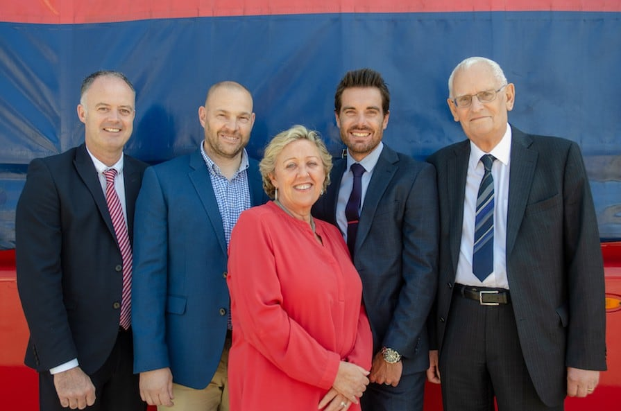 IFL's board of directors in 2019 (l-r): Nigel Parsons, Rob Pike (MD), Trisha Slater, Andy Grubb, Roy Baker.