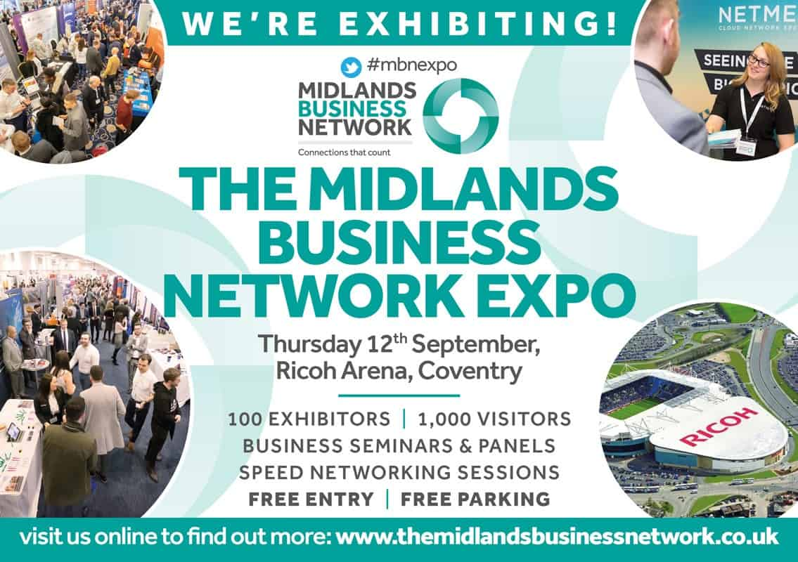 IFL is exhibiting at the Midlands Business Network Expo